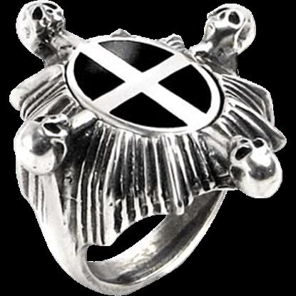 Saint Ankou's Shield Ring