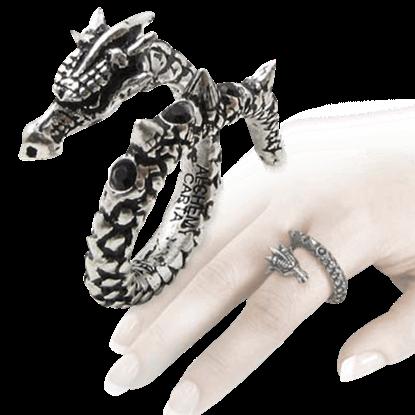 Vis Viva Dragon Ring