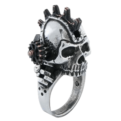 Steamhead Gearpunk Ring