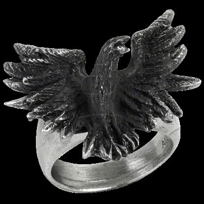 Raven Flight Ring