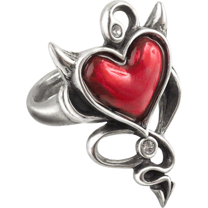 Wicked Heart Ring