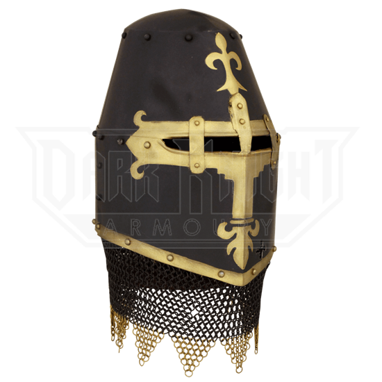 14th Century Dark Knight Helm