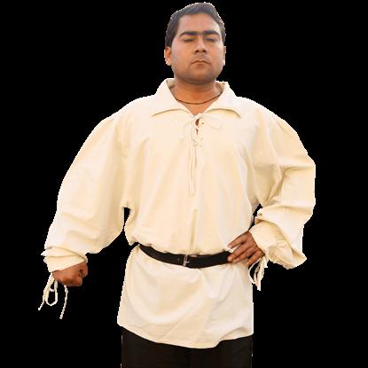 Highlander Tied Sleeves Shirt