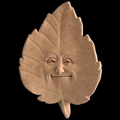 Linden B. Leaf Plaque