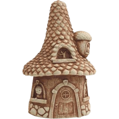 Pinecone Cottage Statue