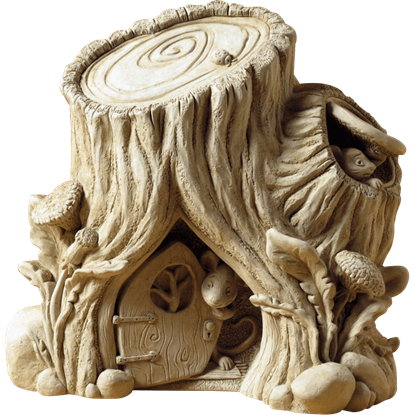 Mouse House Statue