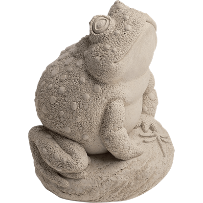 Angus the Toad Statue