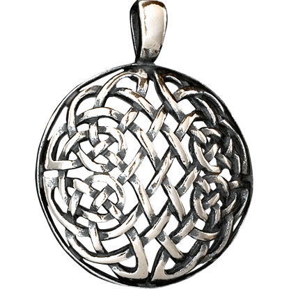 Celtic Serpent Knot Pendant