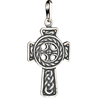 Celtic Nimbus Cross Pendant
