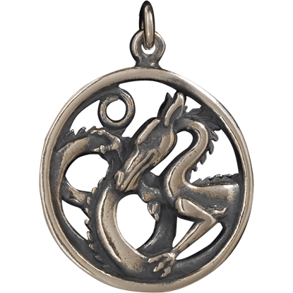 Dragon Circle Pendant
