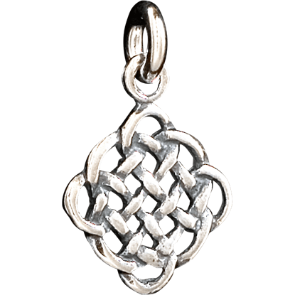 Celtic Lattice Knot Pendant