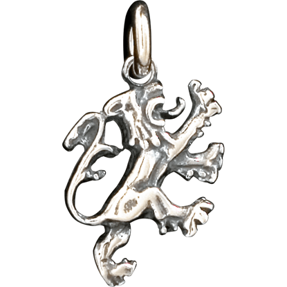 Double-Sided Classic Lion Rampant Pendant