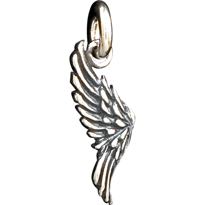 Double-Sided Angel Wing Pendant