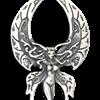 3D Butterfly Fairy Pendant