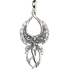 3D Butterfly Pentacle Fairy Pendant