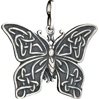 Celtic Butterfly Pendant