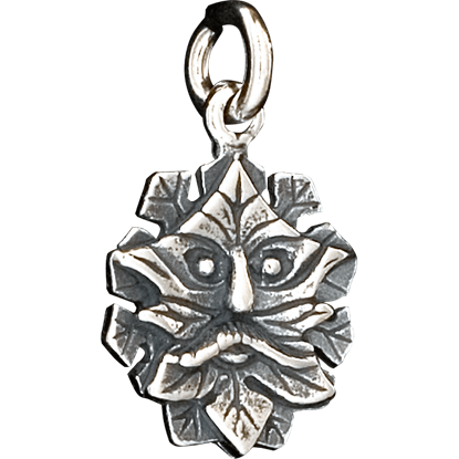Celtic Mini Greenman Pendant