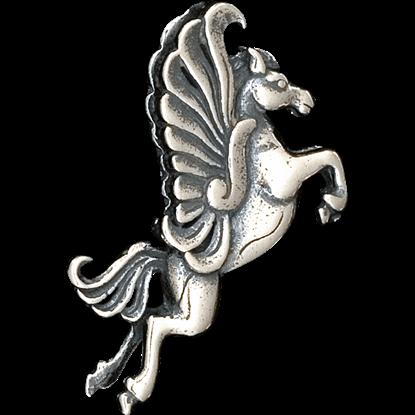 3D Pegasus Rampant Pendant
