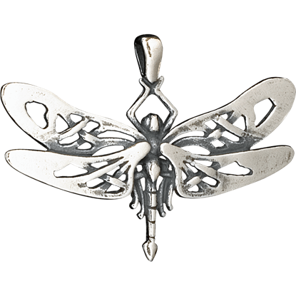 Celtic Dragonfly Pendant