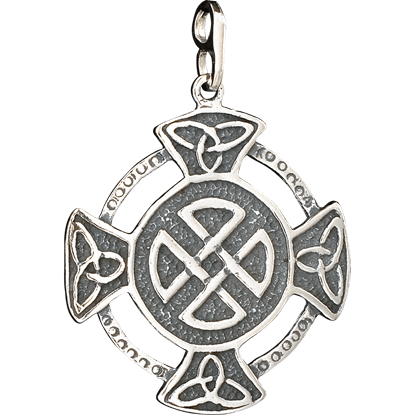 Celtic Circle Cross Pendant