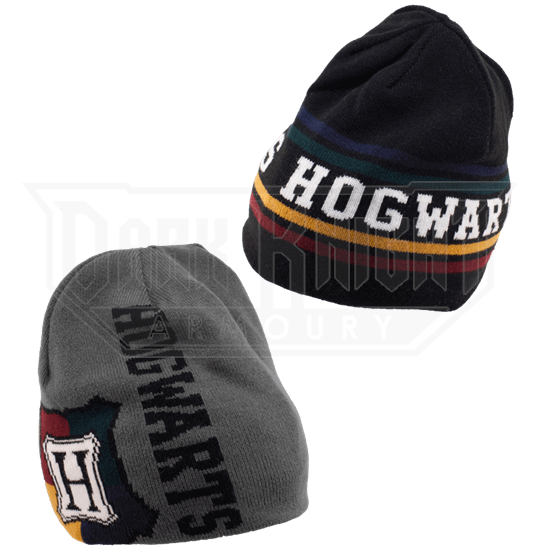 c38a585425bc8 Hogwarts Reversible Knit Beanie - LU-250000 from Leather Armor ...