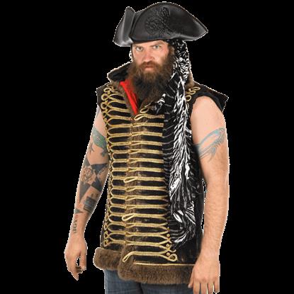 Octopus Pirate Tricorn Hat