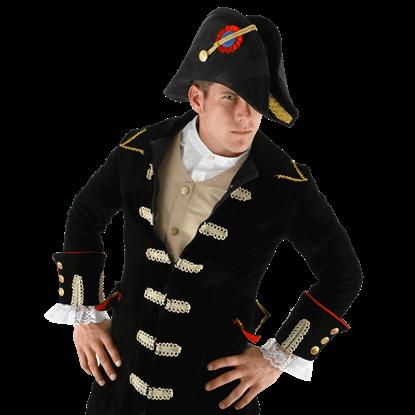Naval Admiral Bicorn Hat