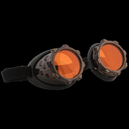 Black Cybersteam Goggles