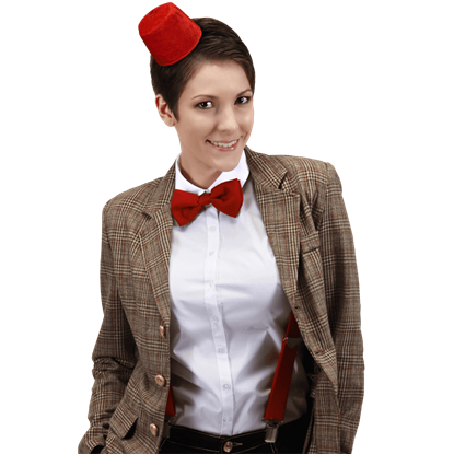Doctor Who Mini Fez and Bow Tie Kit
