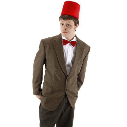 Doctor Who Fez and Bow Tie Kit