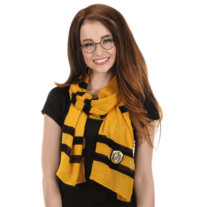 Harry Potter Lightweight Hufflepuff Scarf