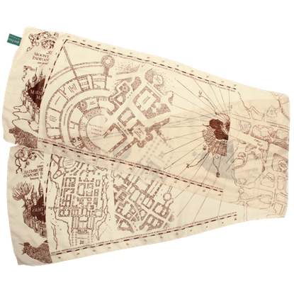 Harry Potter Marauders Map Lightweight Scarf