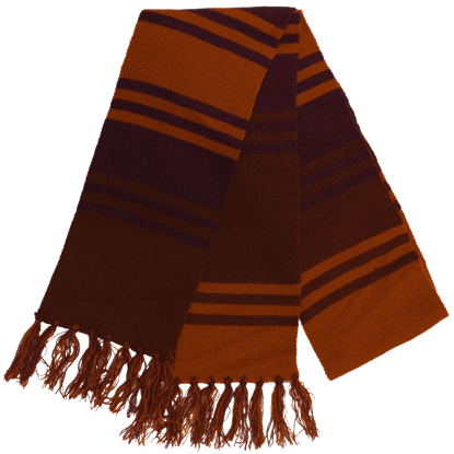 Doctor Who 4th Doctor Purple Knit Scarf