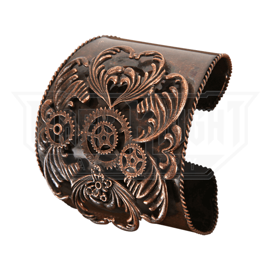 Antique Copper Steampunk Cuff