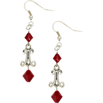 Elyse Medieval Earrings