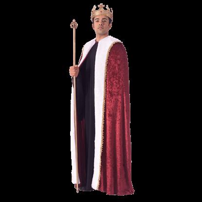 Kings Velvet Costume Robe