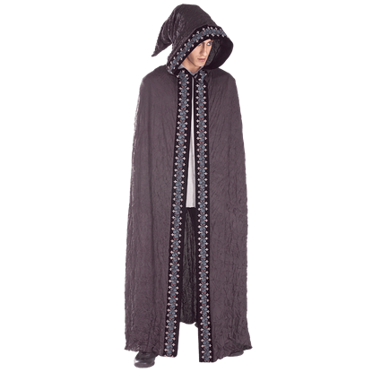 Full Length Gothic Hooded Costume Cape
