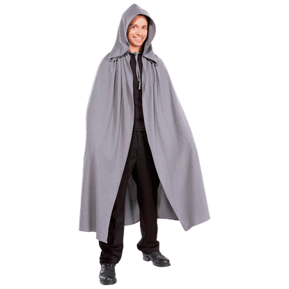 Adult LOTR Grey Elven Costume Cloak