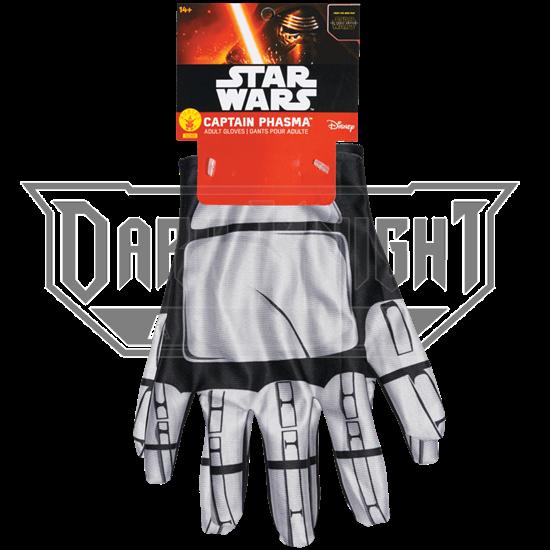 Adult Captain Phasma Gloves