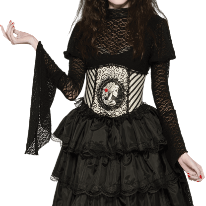 Blackout Lace Sleeve Womens Top