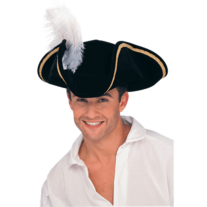 Feathered Buccaneer Tricorn