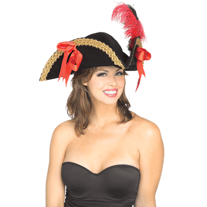 Costume Tricorn Hat