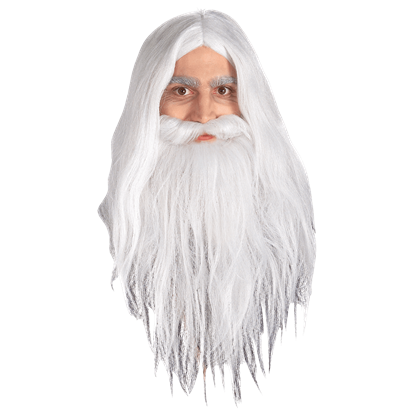 Childs LOTR Gandalf Wig and Beard Set