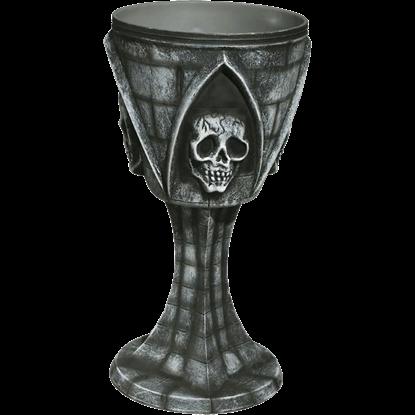 Gothic Skull Goblet