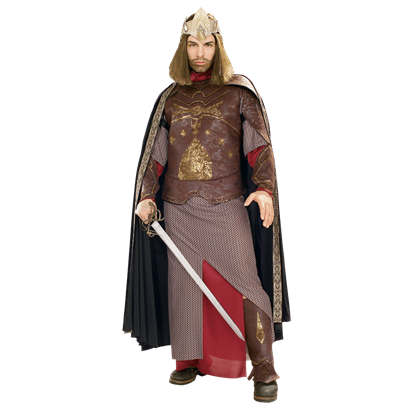 Adult LOTR Deluxe Aragorn King of Gondor Costume