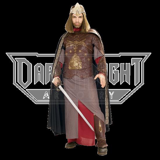 Adult LOTR Deluxe Aragorn King of Gondor Costume