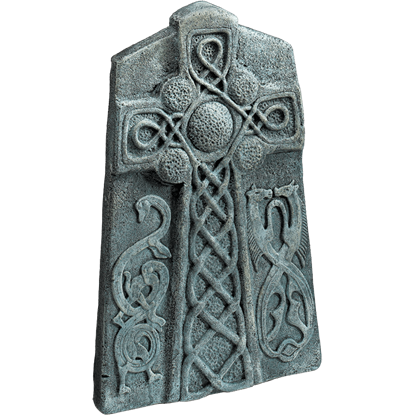 Celtic Cross Tombstone Prop