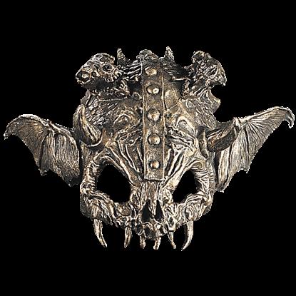 Bat Skull Helmet Topper
