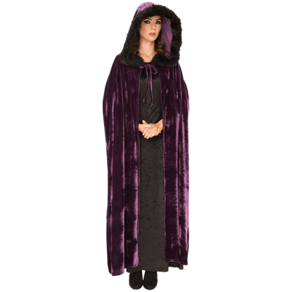 Violet Night Cloak