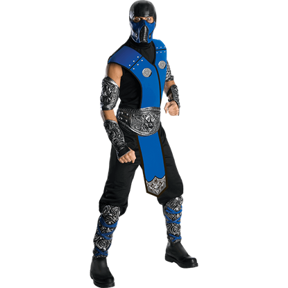 Mens Mortal Kombat Sub-Zero Costume